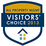 2013 Visitors' Choice Award